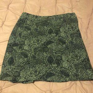 Green Rip Skirt